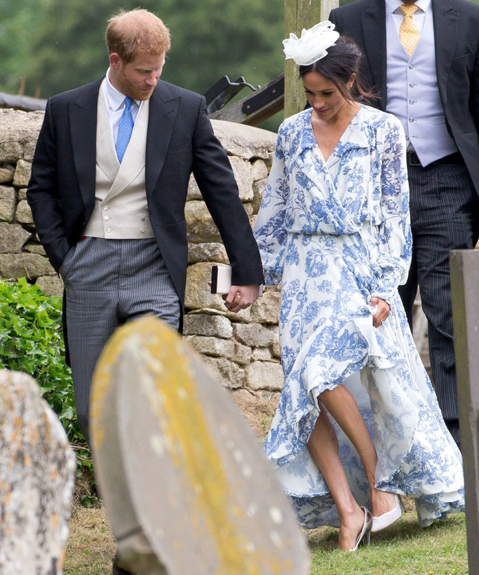 Meghan Markle Re-Wore Her Wedding Shoes to Watch Another Bride Get Married