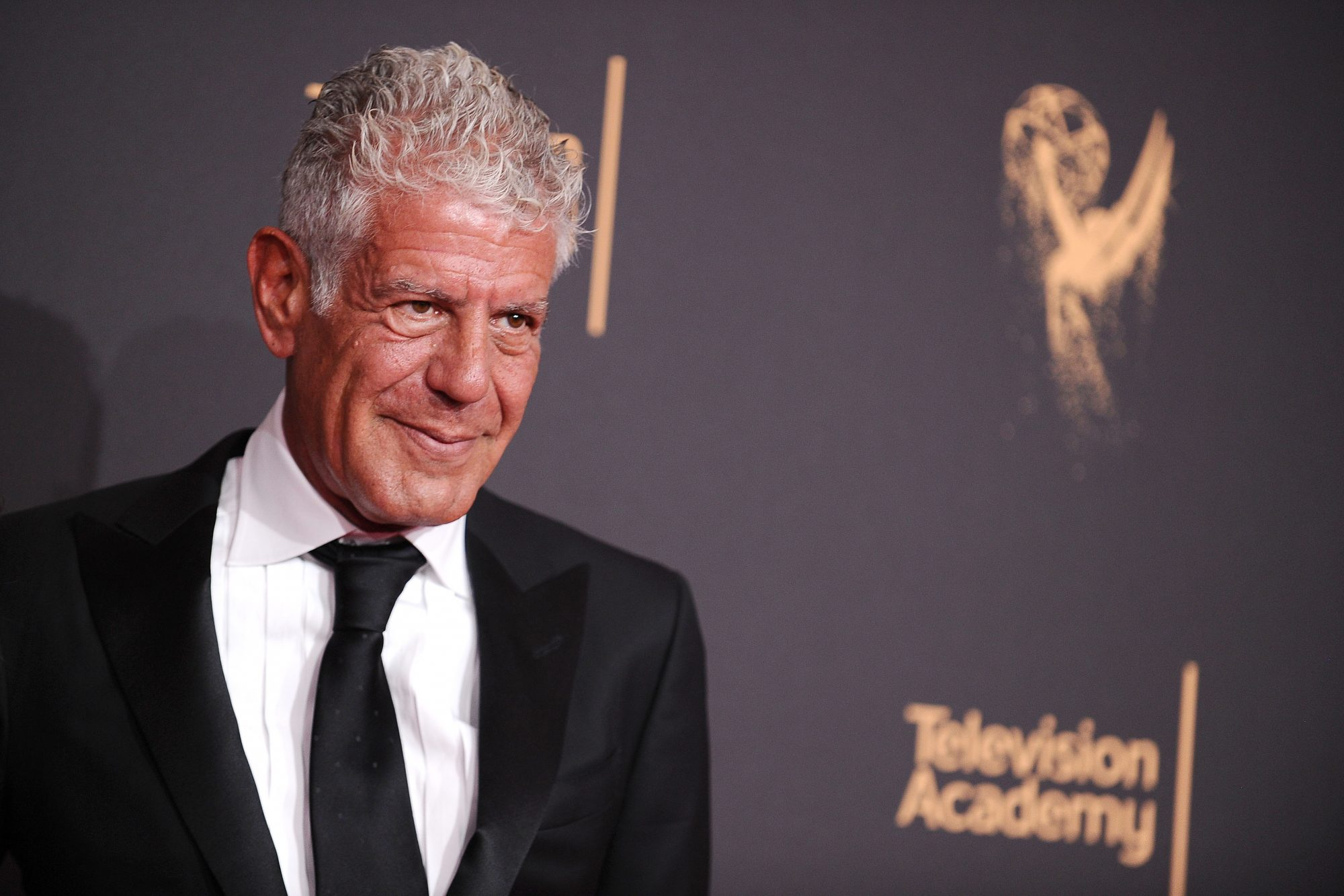 Anthony Bourdain Smiling