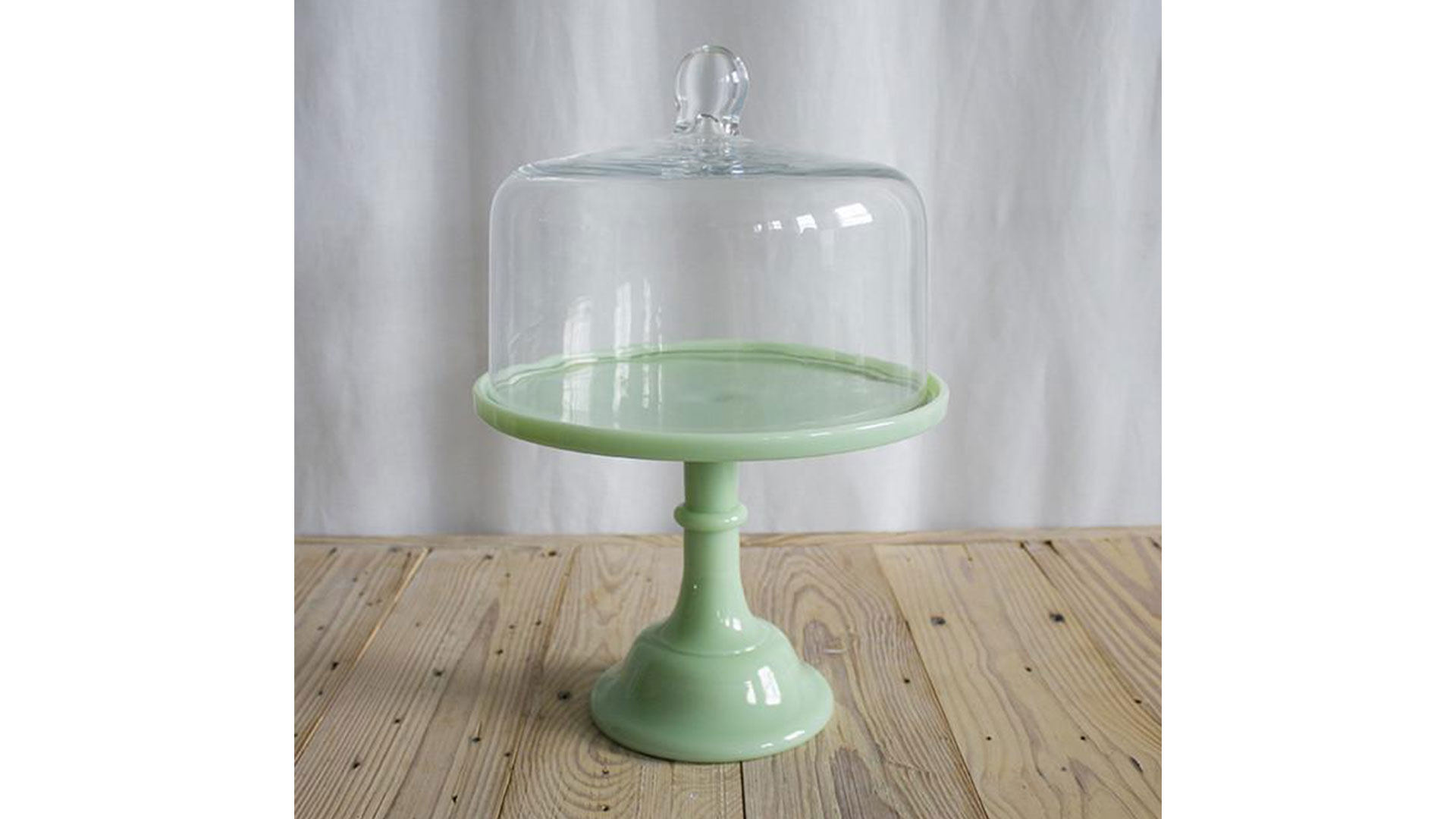 Erin and Ben Napier American Products Glass Cake Stand