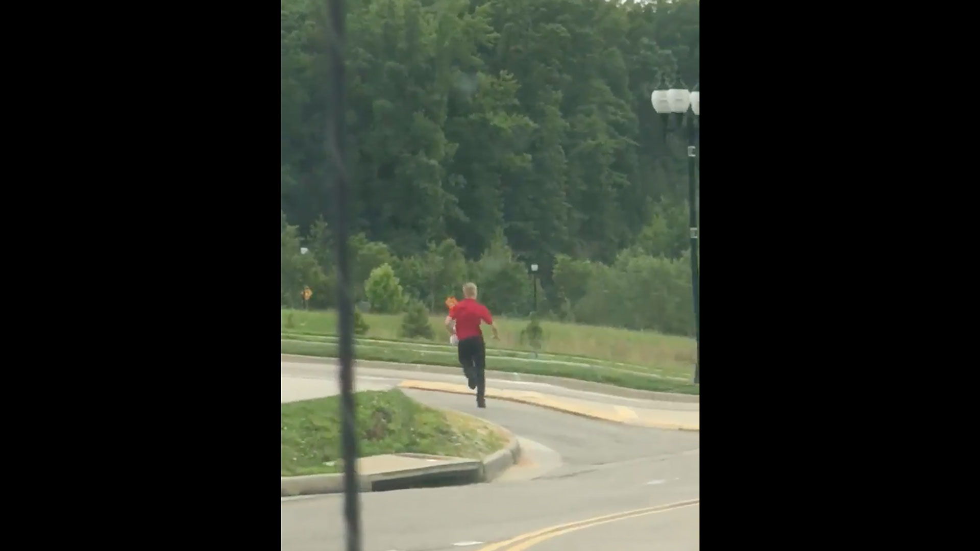 Chick-fil-A Employee Chases Customer