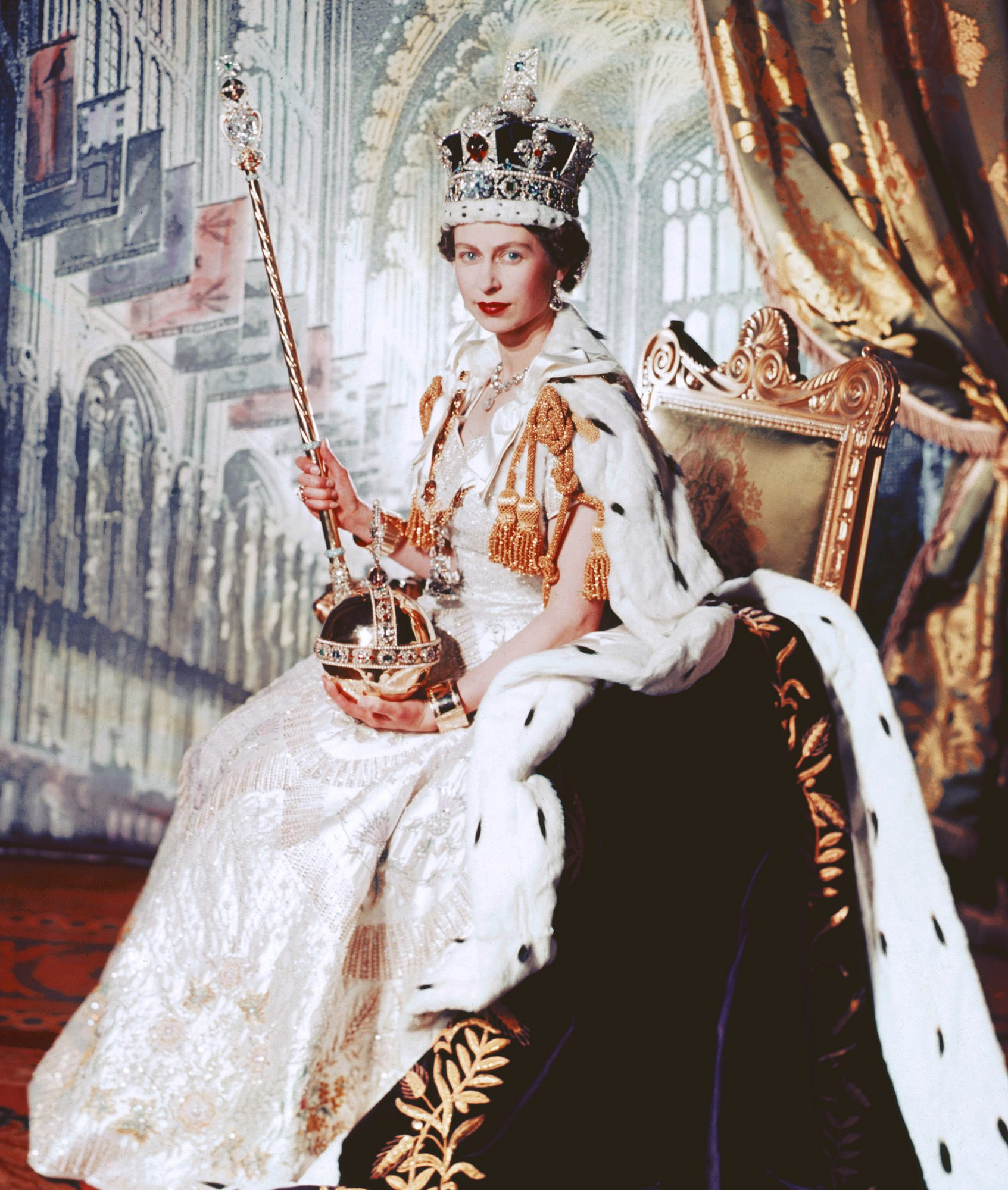 The Crown! The Crowd! Remembering Queen Elizabeth's Coronation 65 Years Ago coronation-portait