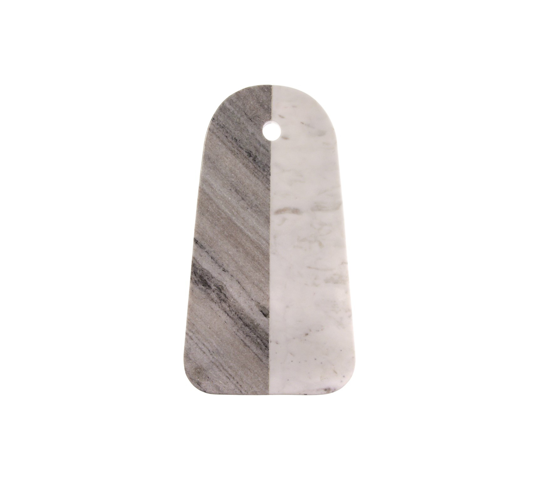 White and Gray Marble Cutting Board