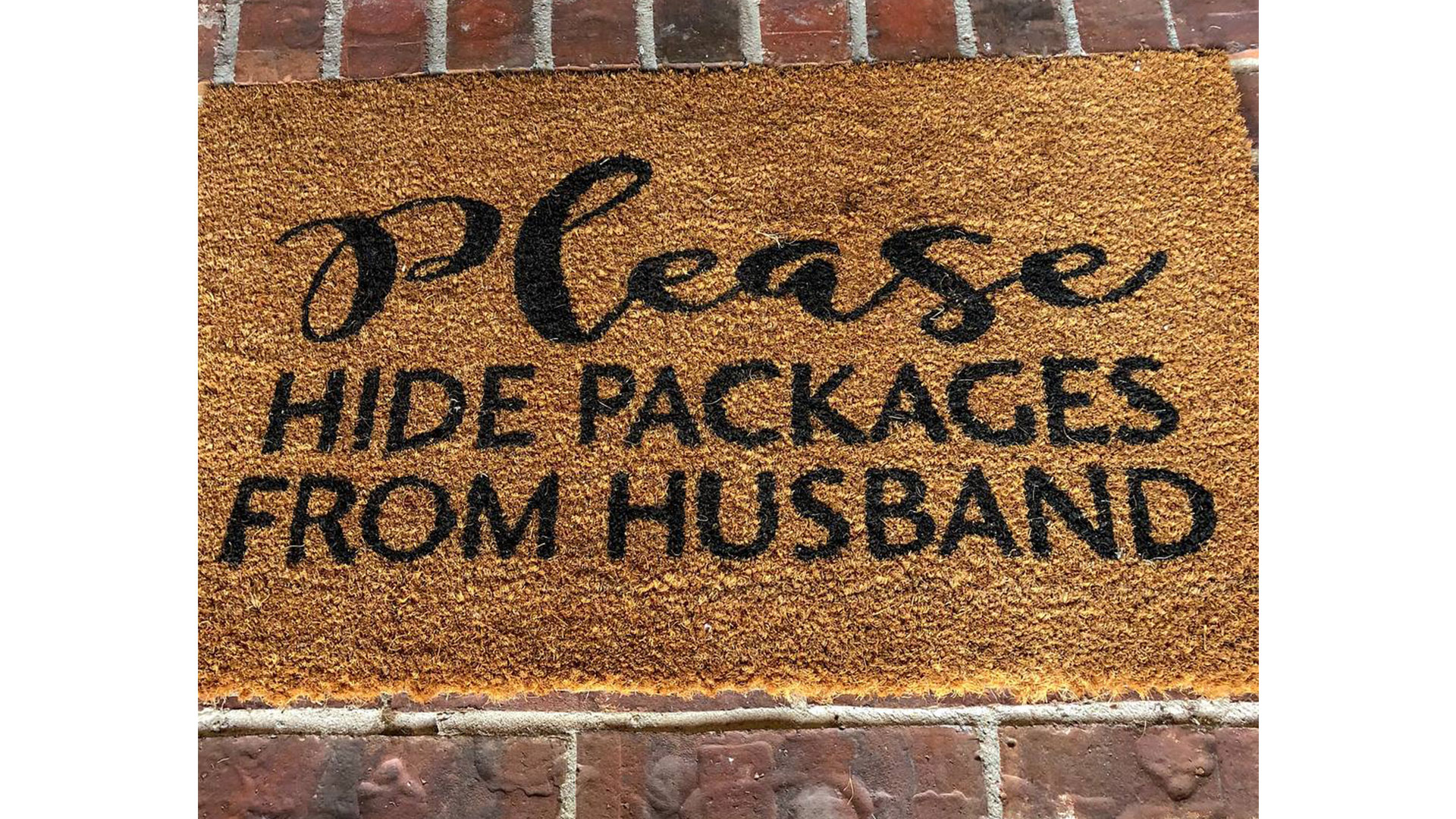 Viral Amazon Delivery Doormat
