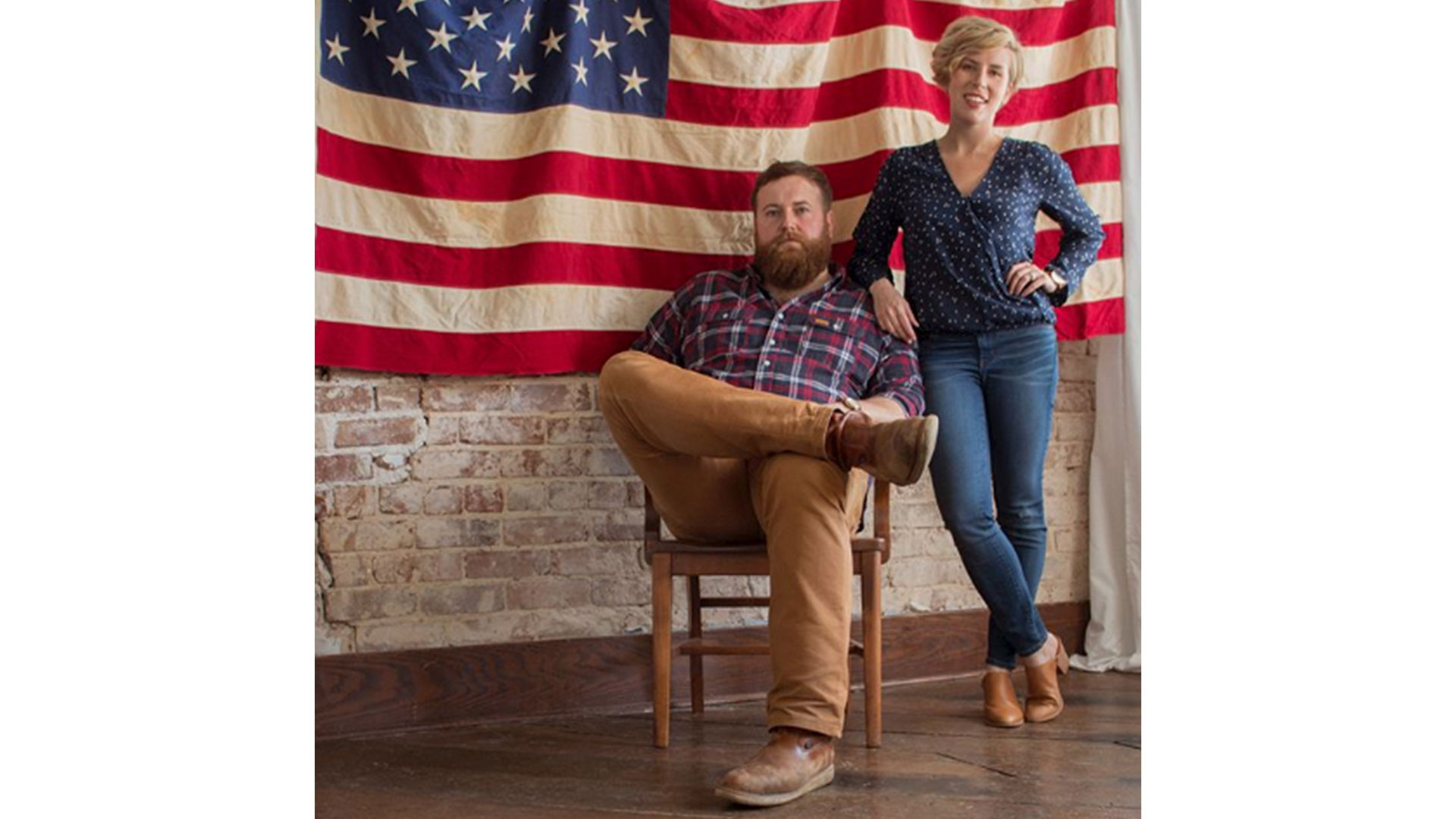 Erin and Ben Napier American Products
