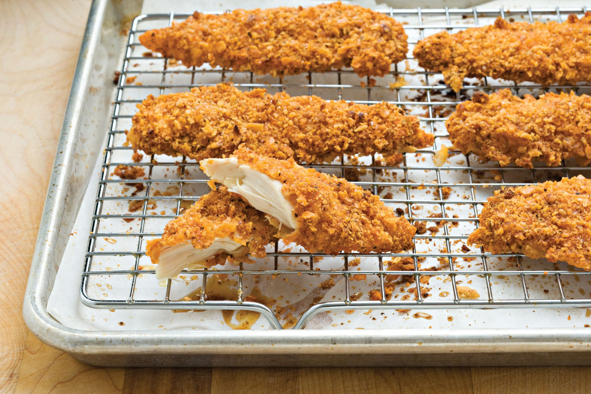 Pecan-Crusted Chicken Tenders
