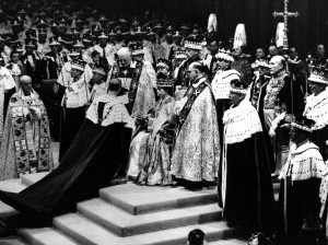The Crown! The Crowd! Remembering Queen Elizabeth's Coronation 65 Years Ago gettyimages-2639217