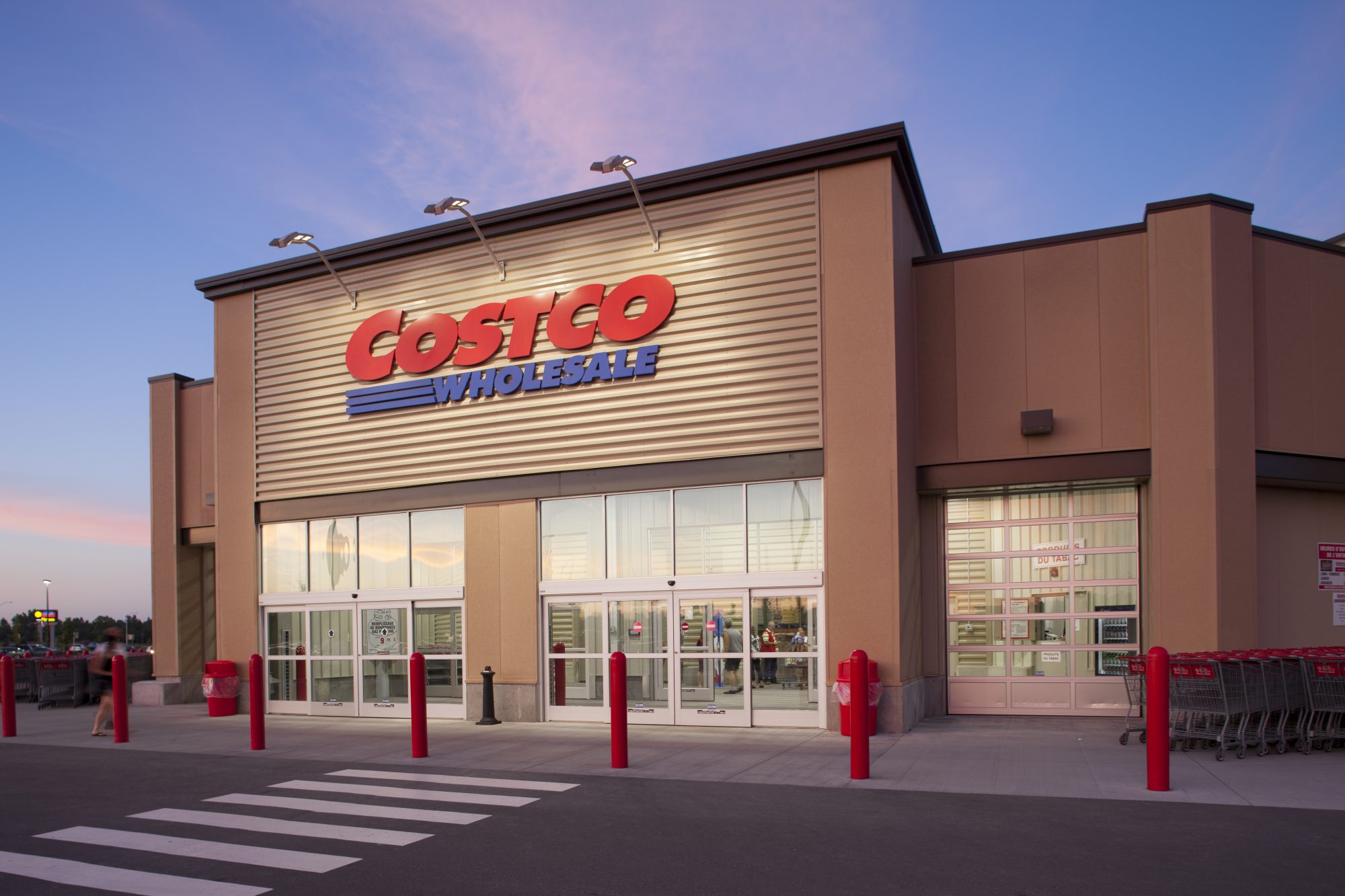 Costco Wholesale Front Entrance