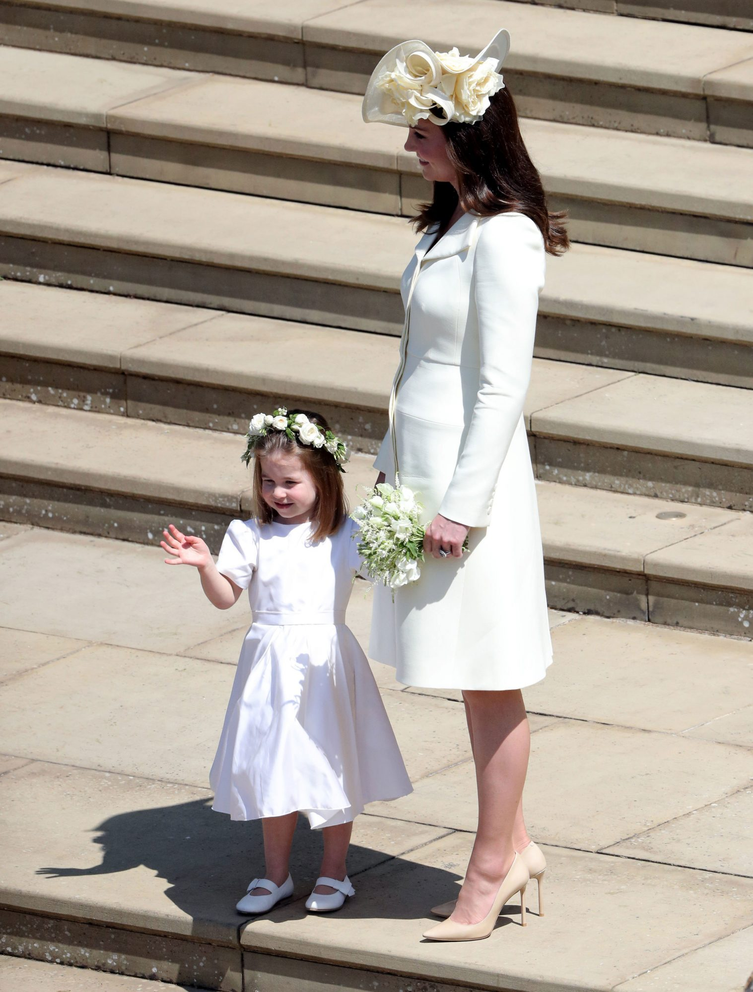 Kate Middleton Princess Charlotte Royal Wedding