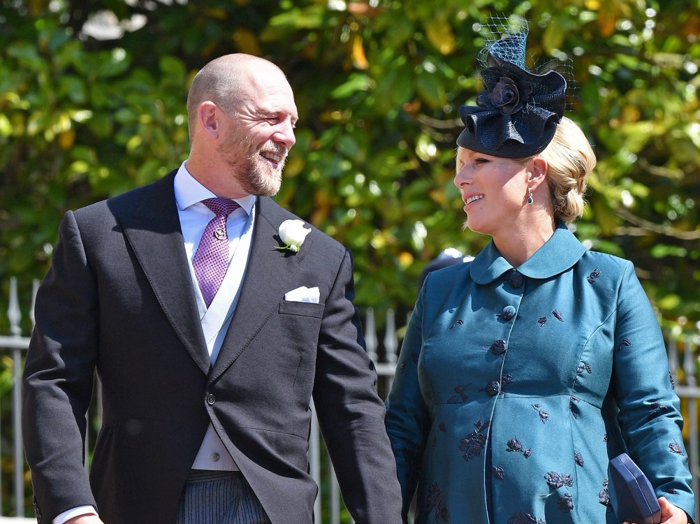 The Queen's Granddaughter Zara Tindall Just Announced a Very Special Name for Her New Daughter gettyimages-961798128