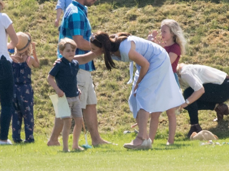 See Princess Charlotte and Prince George Adorably Cheer on Dad William at Polo! kate-middleton-d