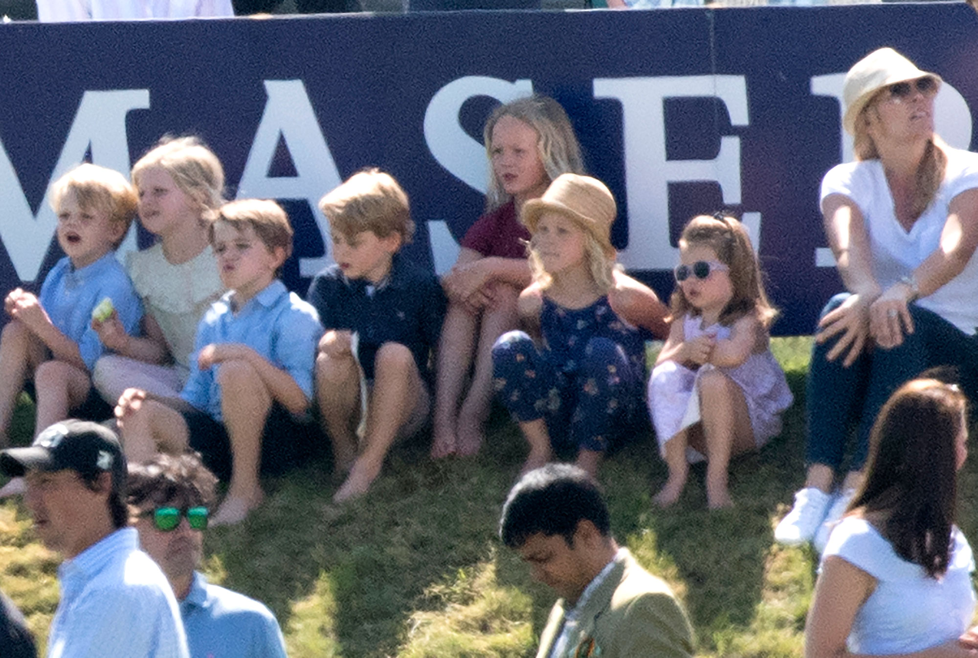 See Princess Charlotte and Prince George Adorably Cheer on Dad William at Polo! kate-middleton2