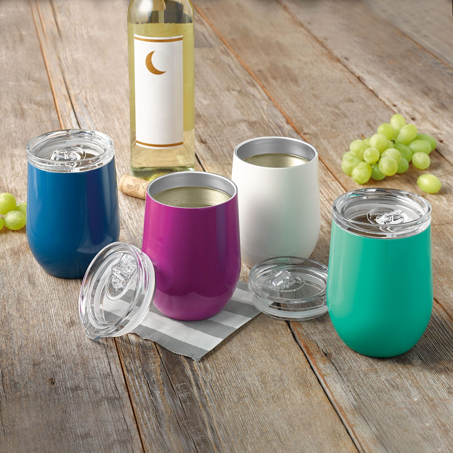 Insulated Wine Glass Set