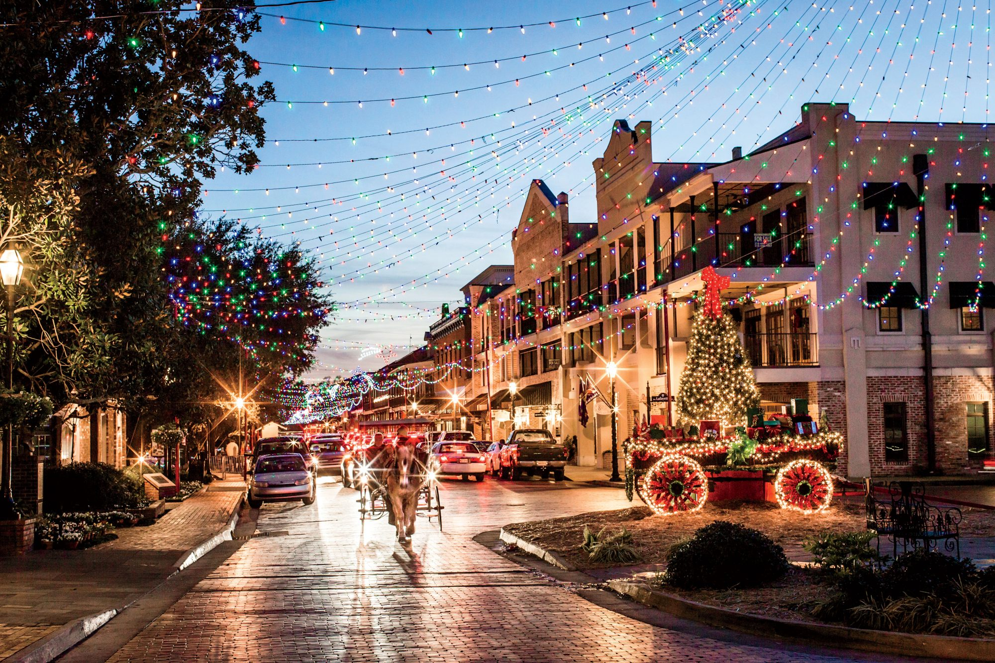 Natchitoches Christmas Lights