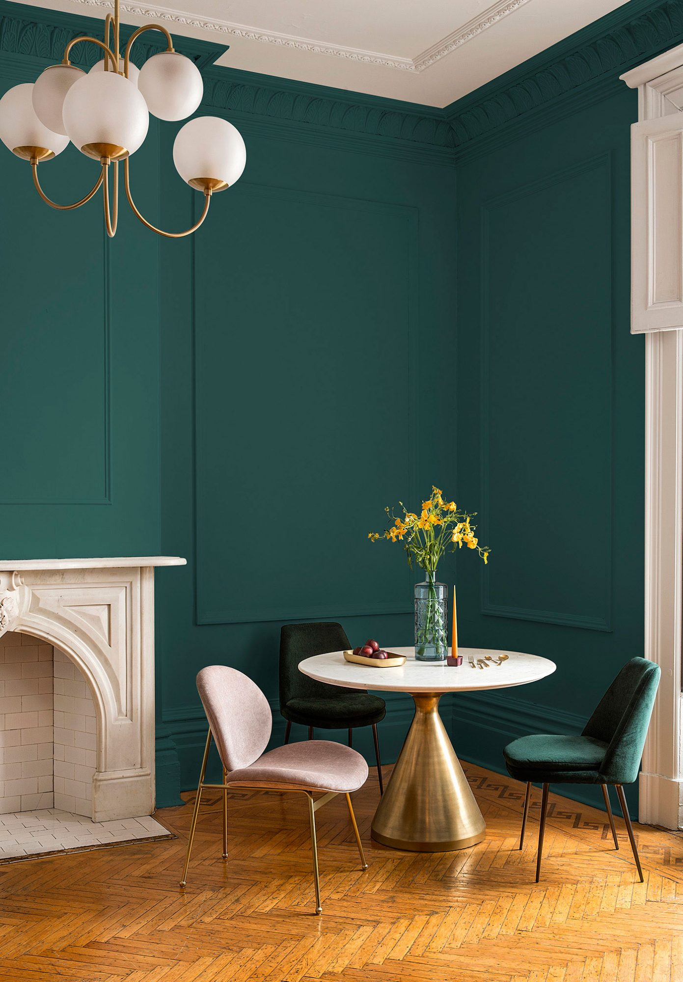 There's Already a 2019 Color of the Year! And It Looks a Lot Like Joanna Gaines' Favorite Shade ppg-night-watch-color-of-the-year-2019-3