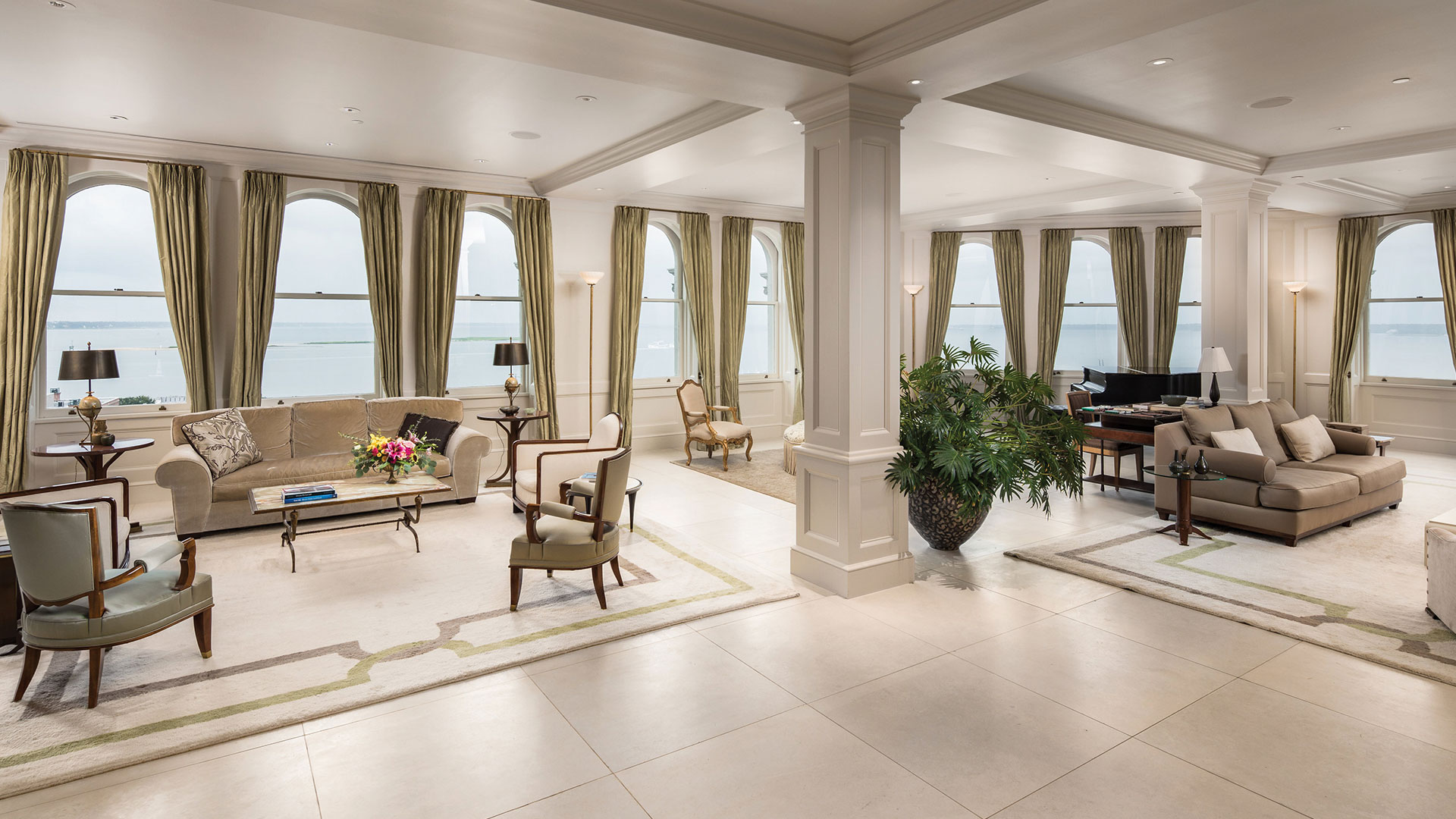 Charleston People's Building Penthouse Grand Salon
