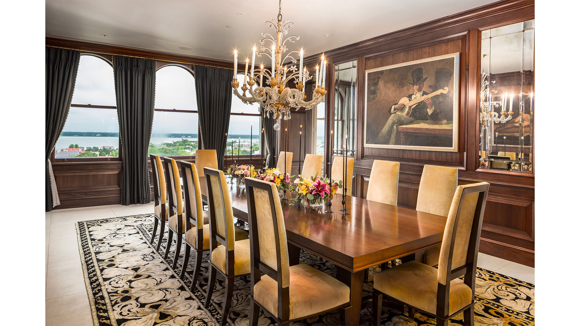 Charleston People's Building Penthouse Dining Room