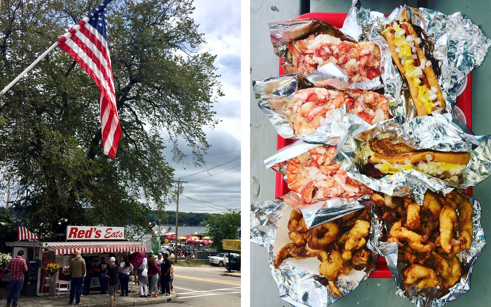 Red's Eats, Maine