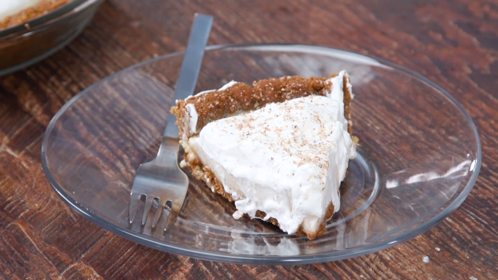 Eggnog Icebox Pie