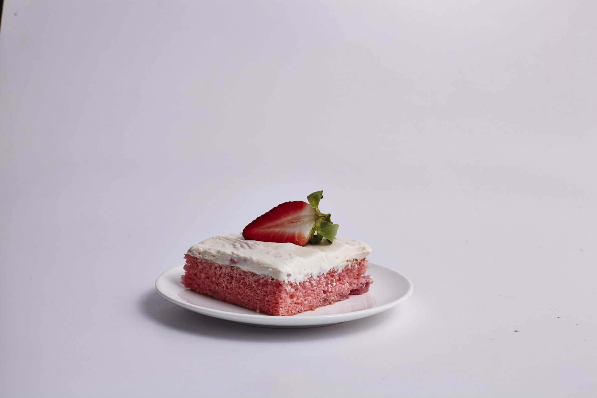 Fresh Strawberry Sheet Cake image