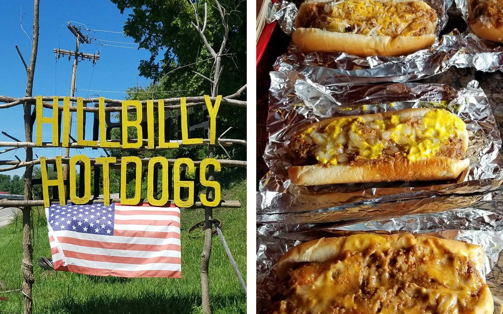 Hillbilly Hot Dogs, West Virginia