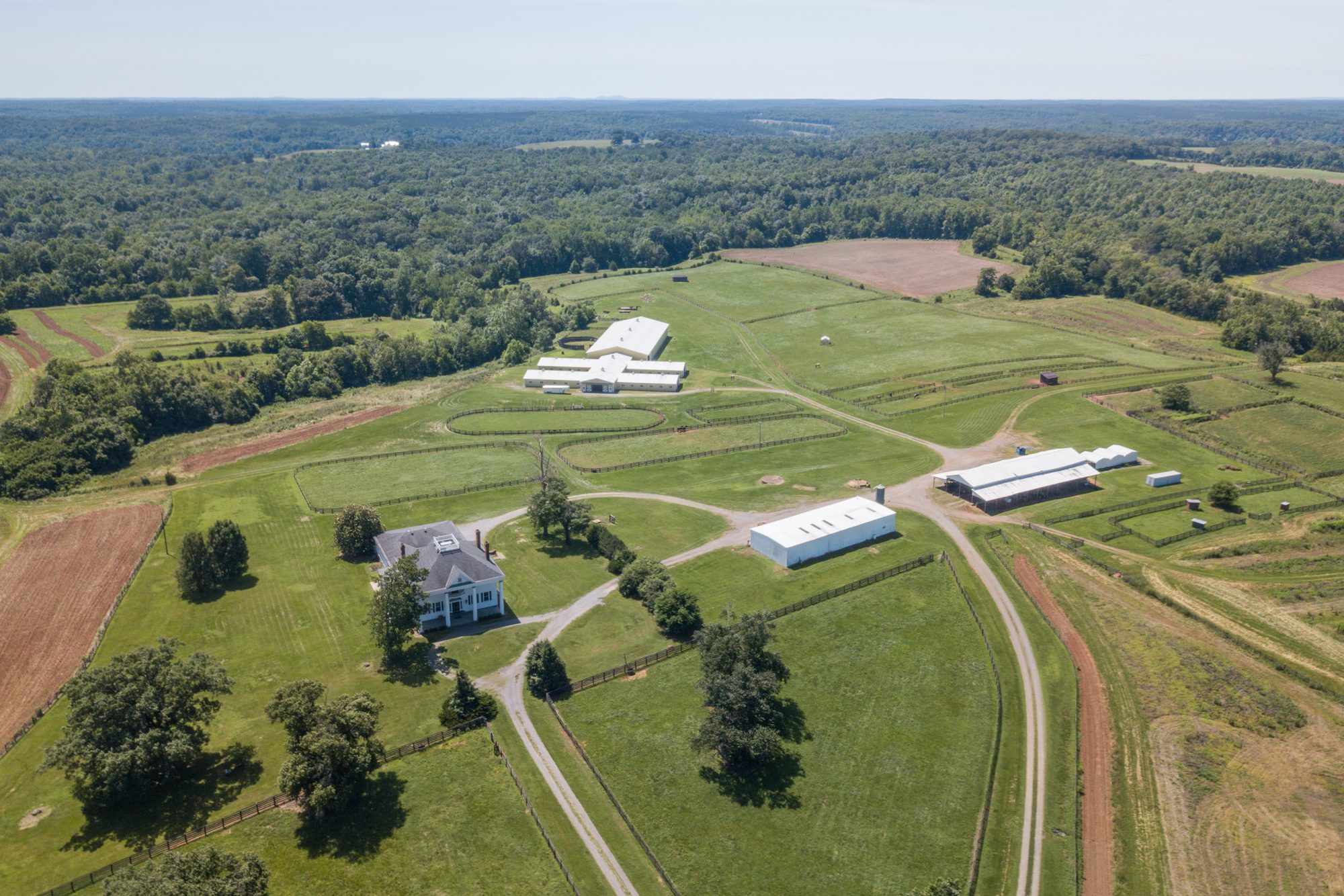 Greenfield Farm from Above
