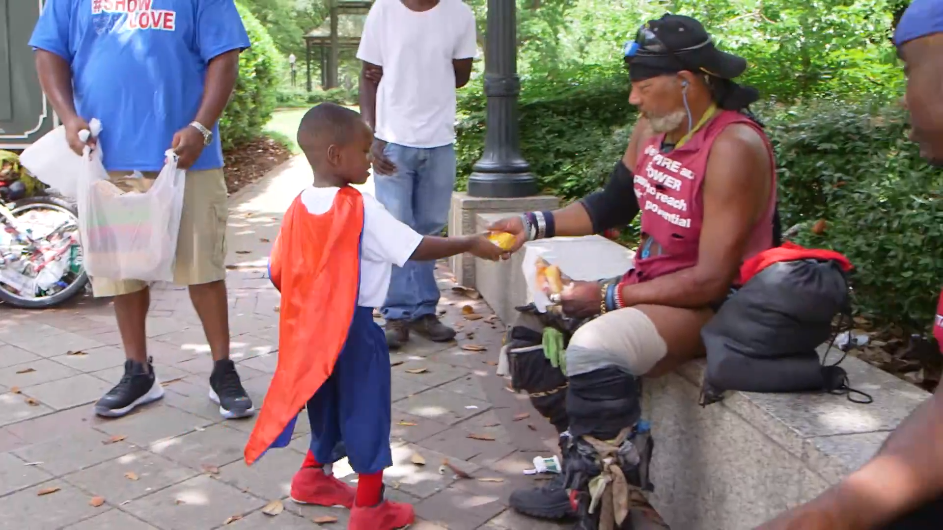 Austin Perine Feeds Homeless