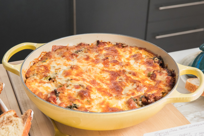 Spicy One-Skillet Lasagna