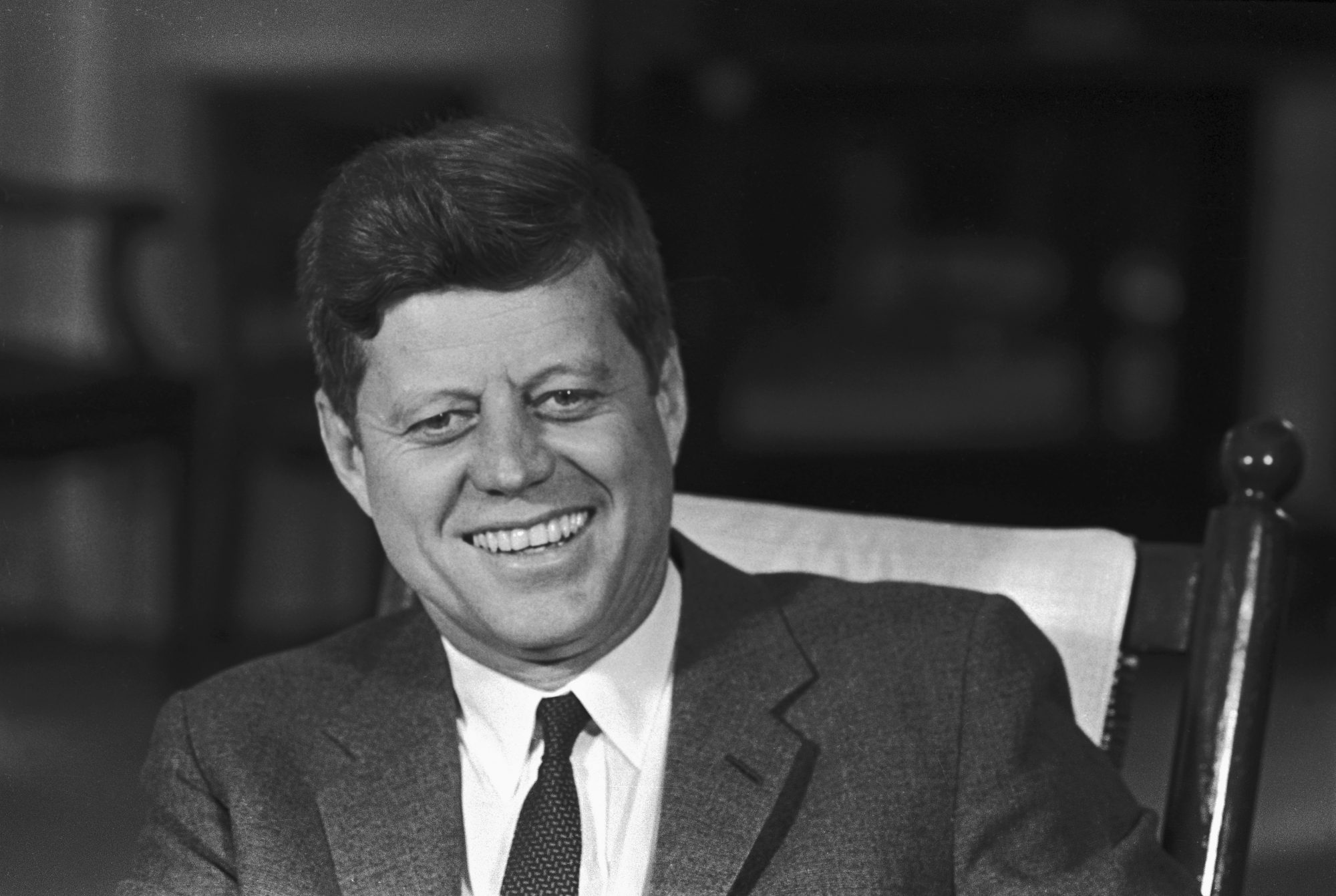 John F. Kennedy Headshot