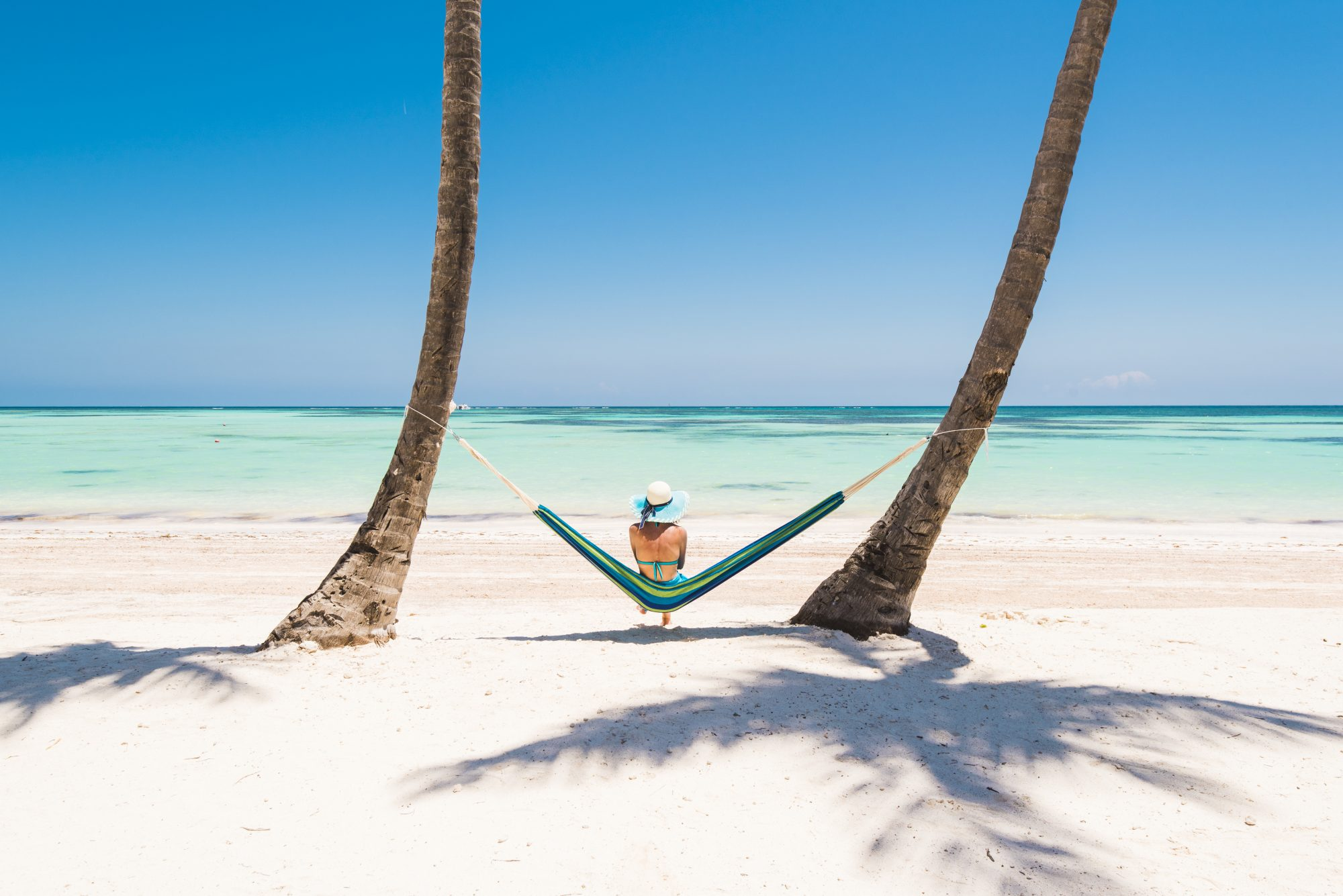 Vacationing in Hammock by Beach