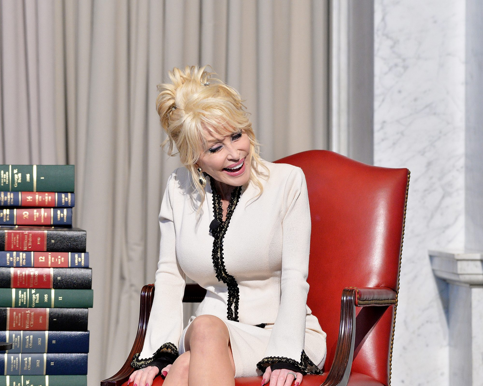 Dolly Parton and Books