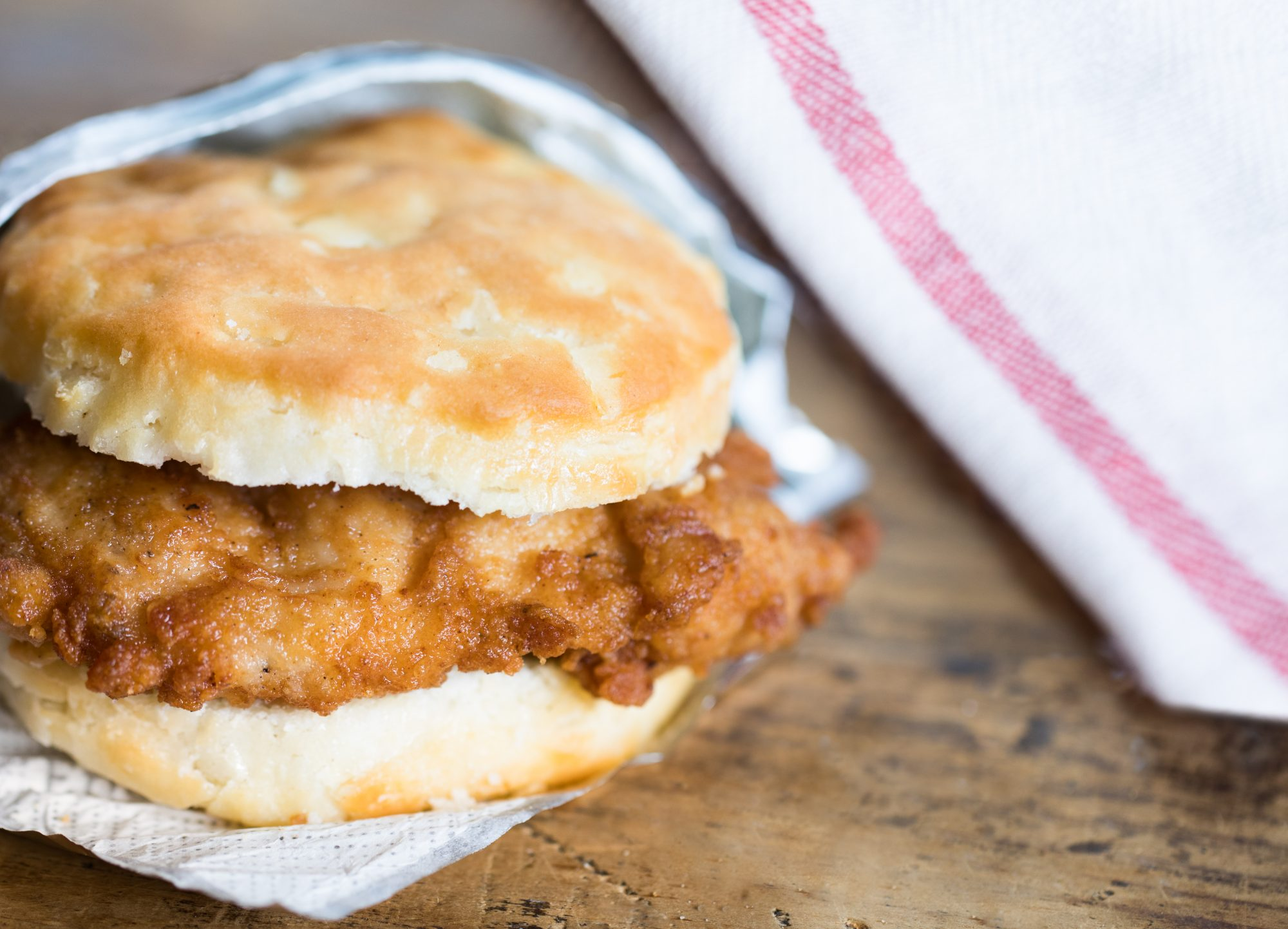 chick-fil-a chicken biscuit
