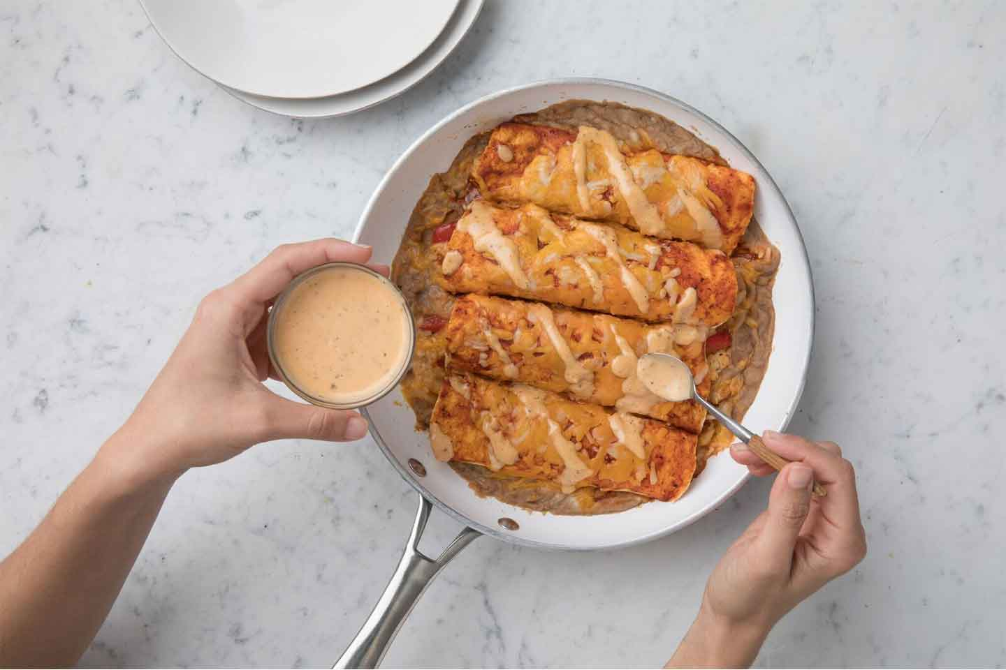 Chick-fil-A Chicken Enchiladas
