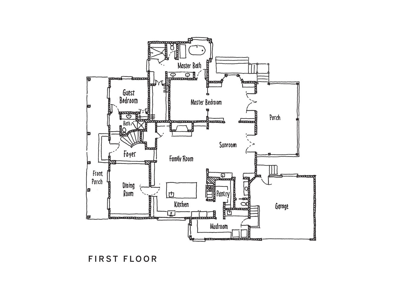 2018 Idea House First Floor Plan