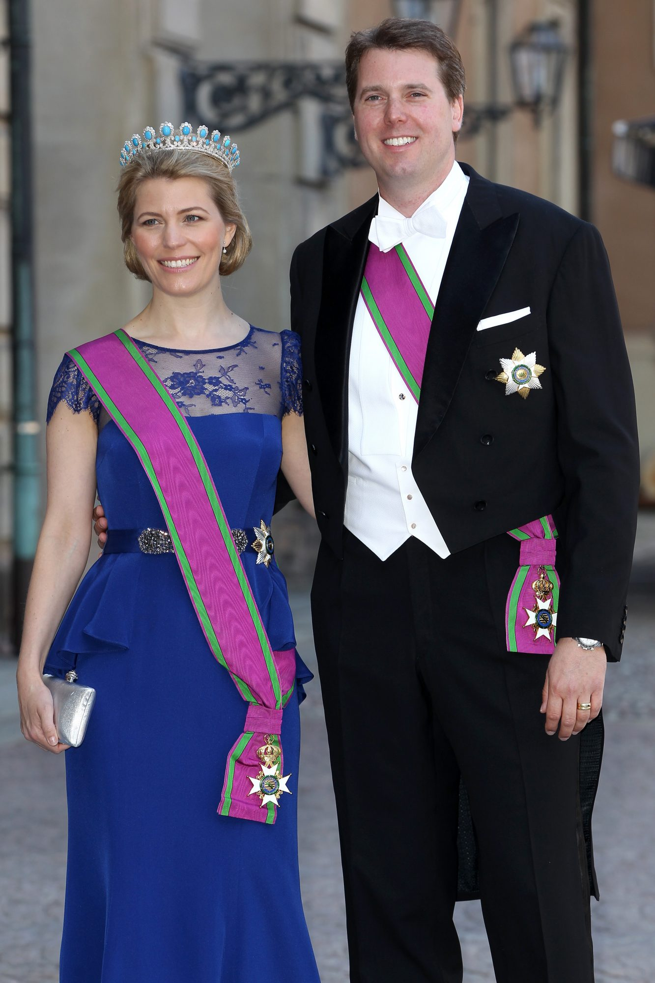 Princess Kelly and Prince Hubertus of Saxe-Coburg and Gotha