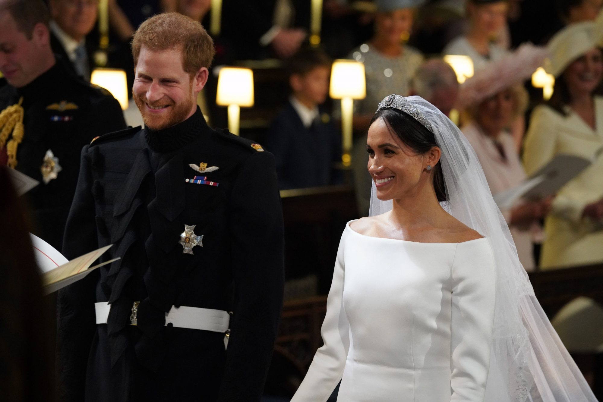 Meghan Markle and Princess Harry Wedding Day