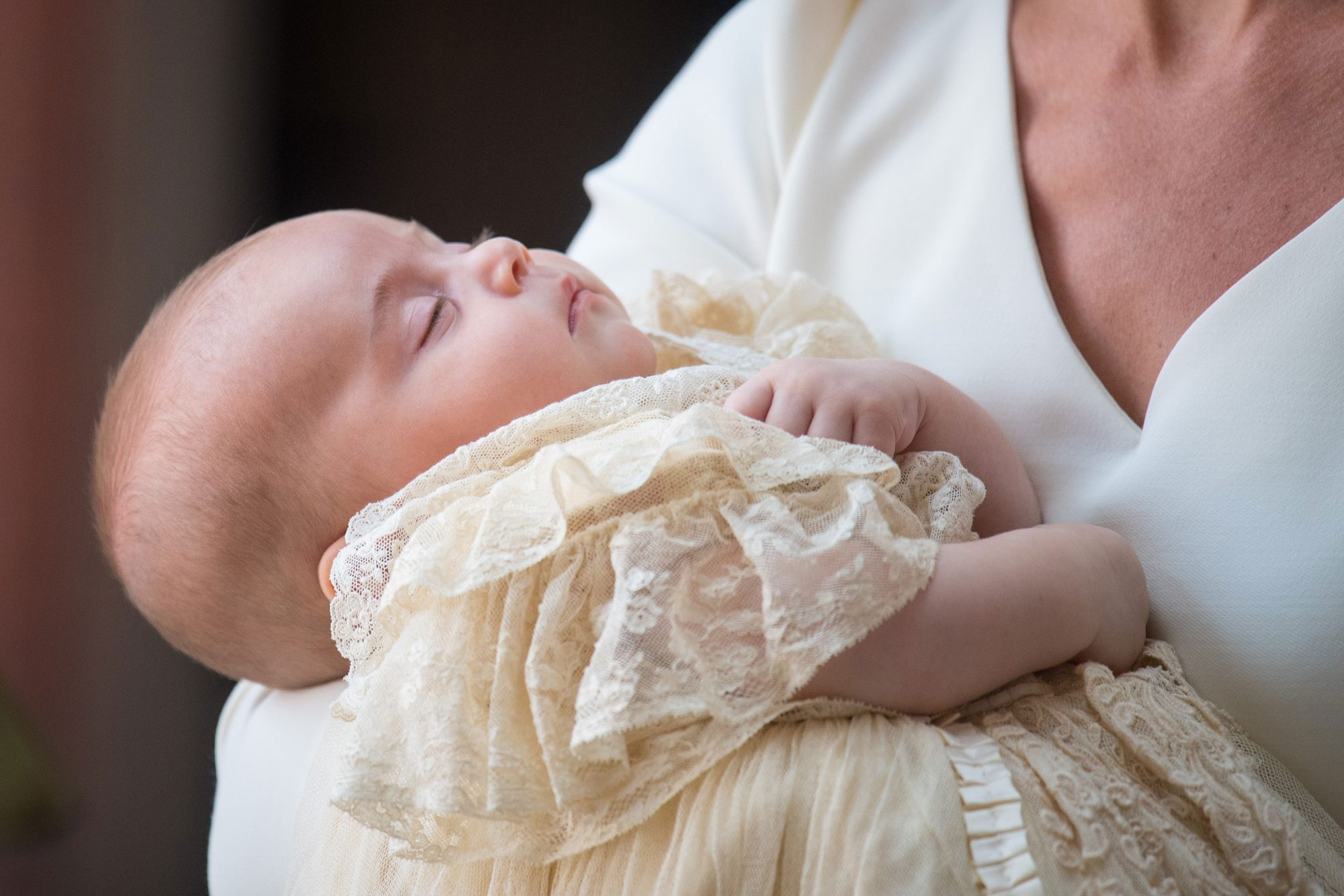 Prince Louis at Christening
