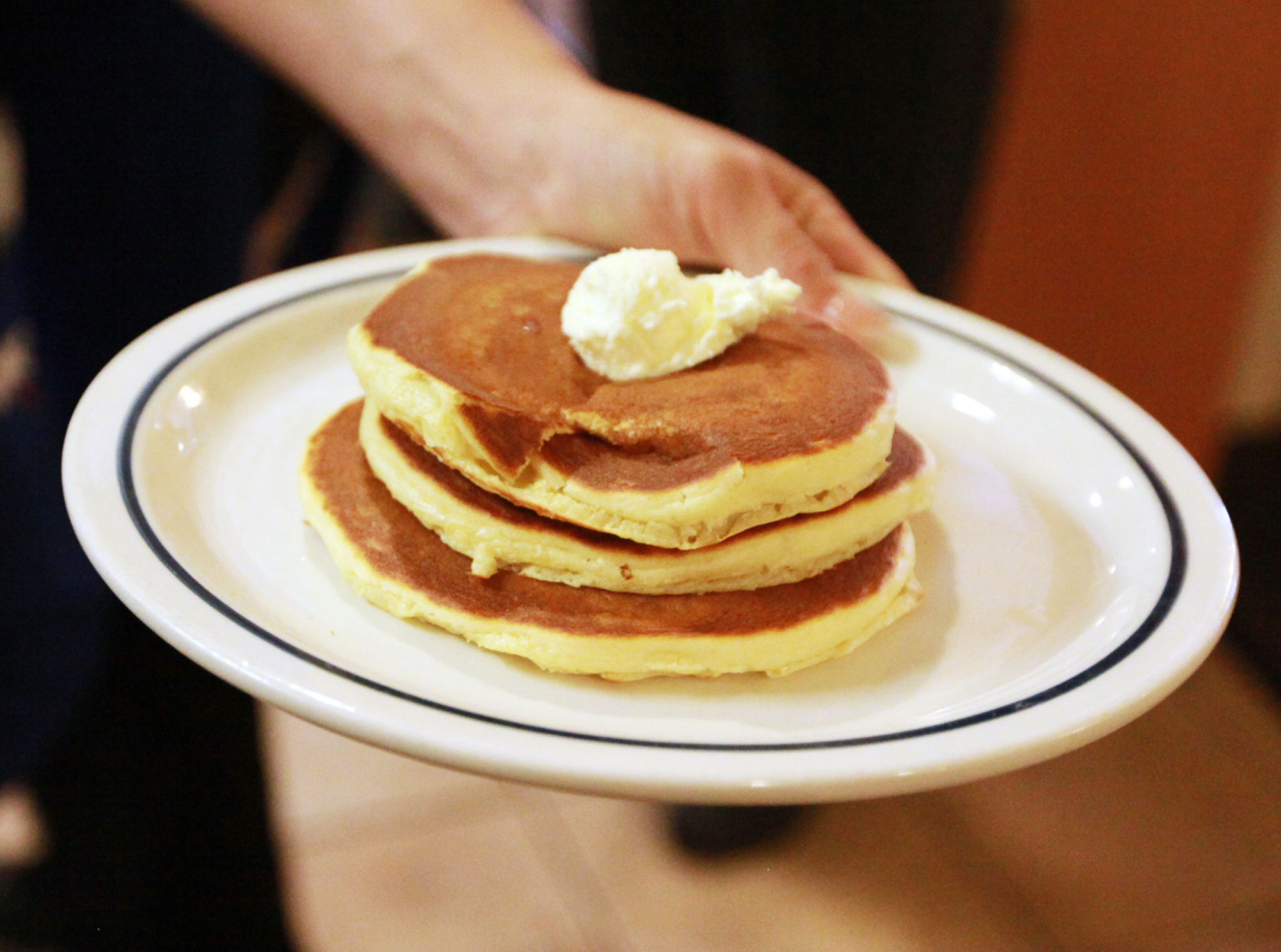 You Can Get a Stack of IHOP Pancakes for Just 60 Cents Today—Here's How ihop-pancakes-ap_435762852572