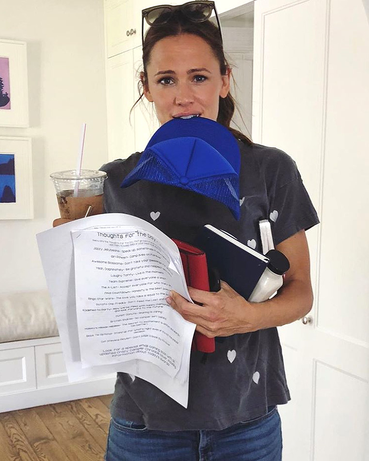 Jennifer Garner Juggles It All in Hilarious Instagram Post Every Mom Can Relate to