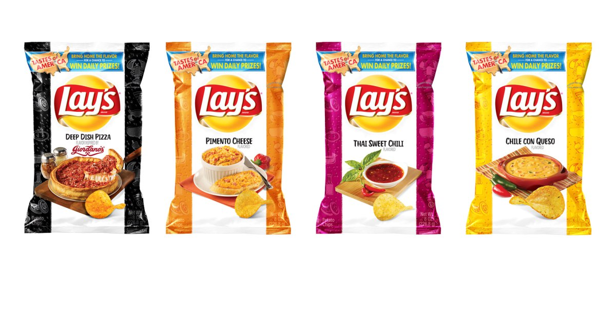 Lay's Potato Chips New Flavors 2018