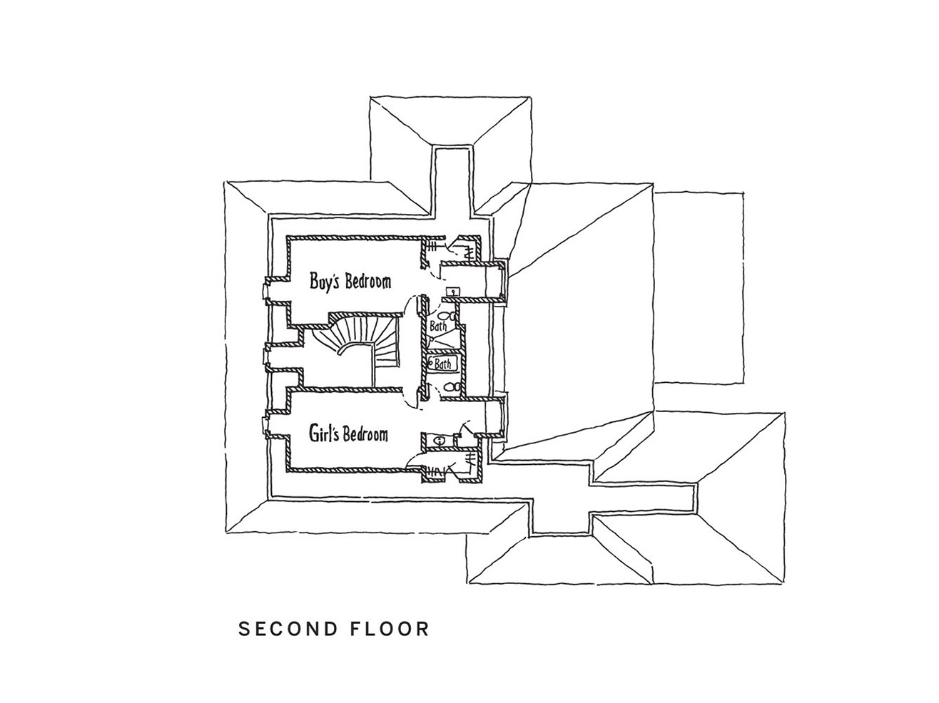 2018 Idea House Second Floor Plan