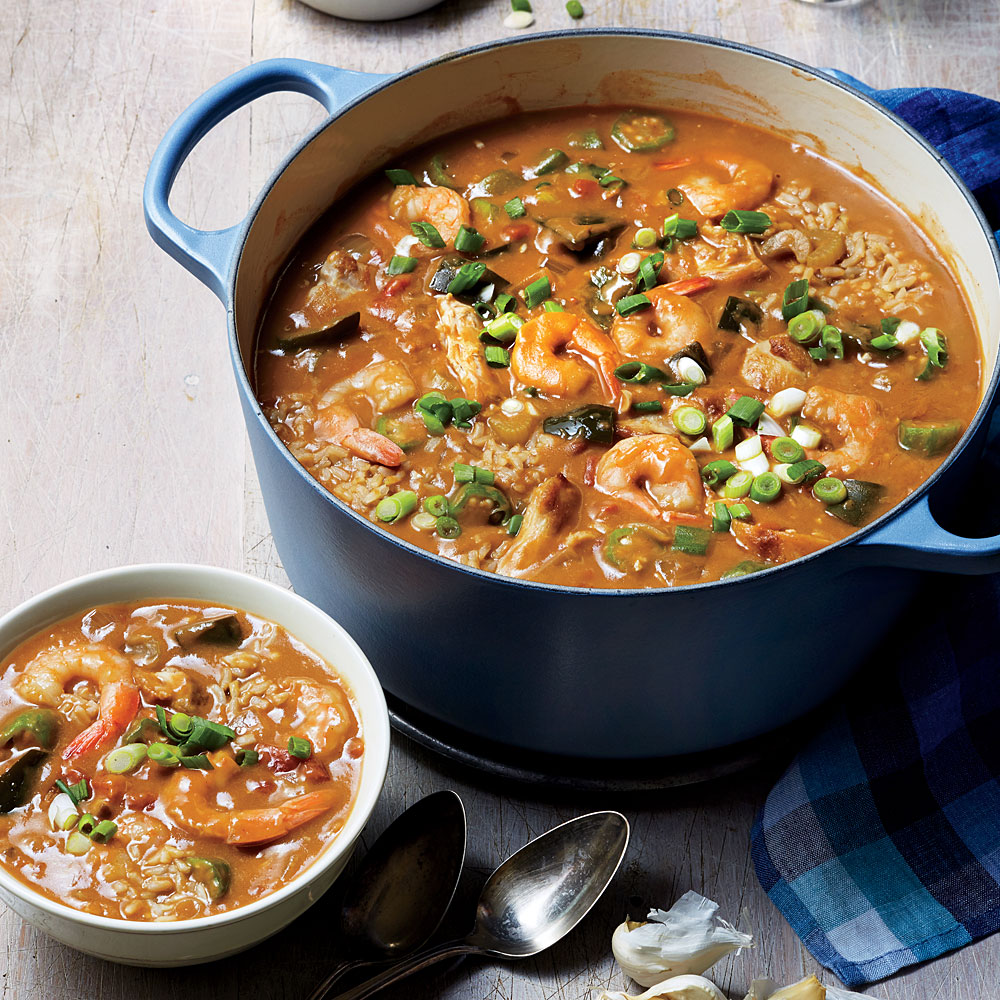 Shrimp and Chicken Gumbo
