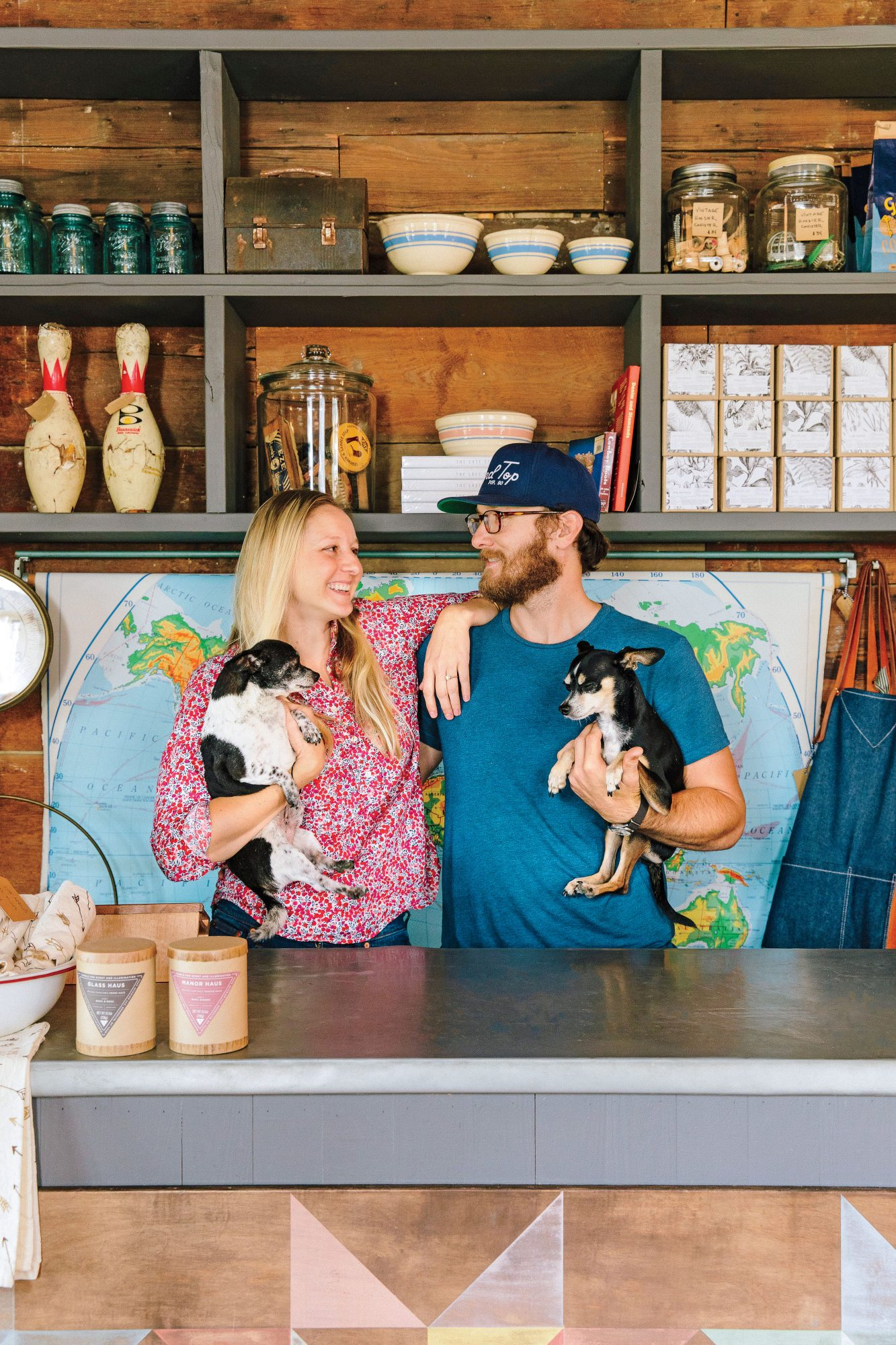 Nick Mosley and Ryann Ford of Townsend Provisions