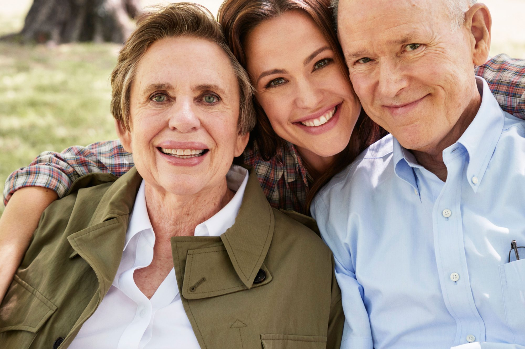Jennifer Garner with Parents Pat and Bill Garner