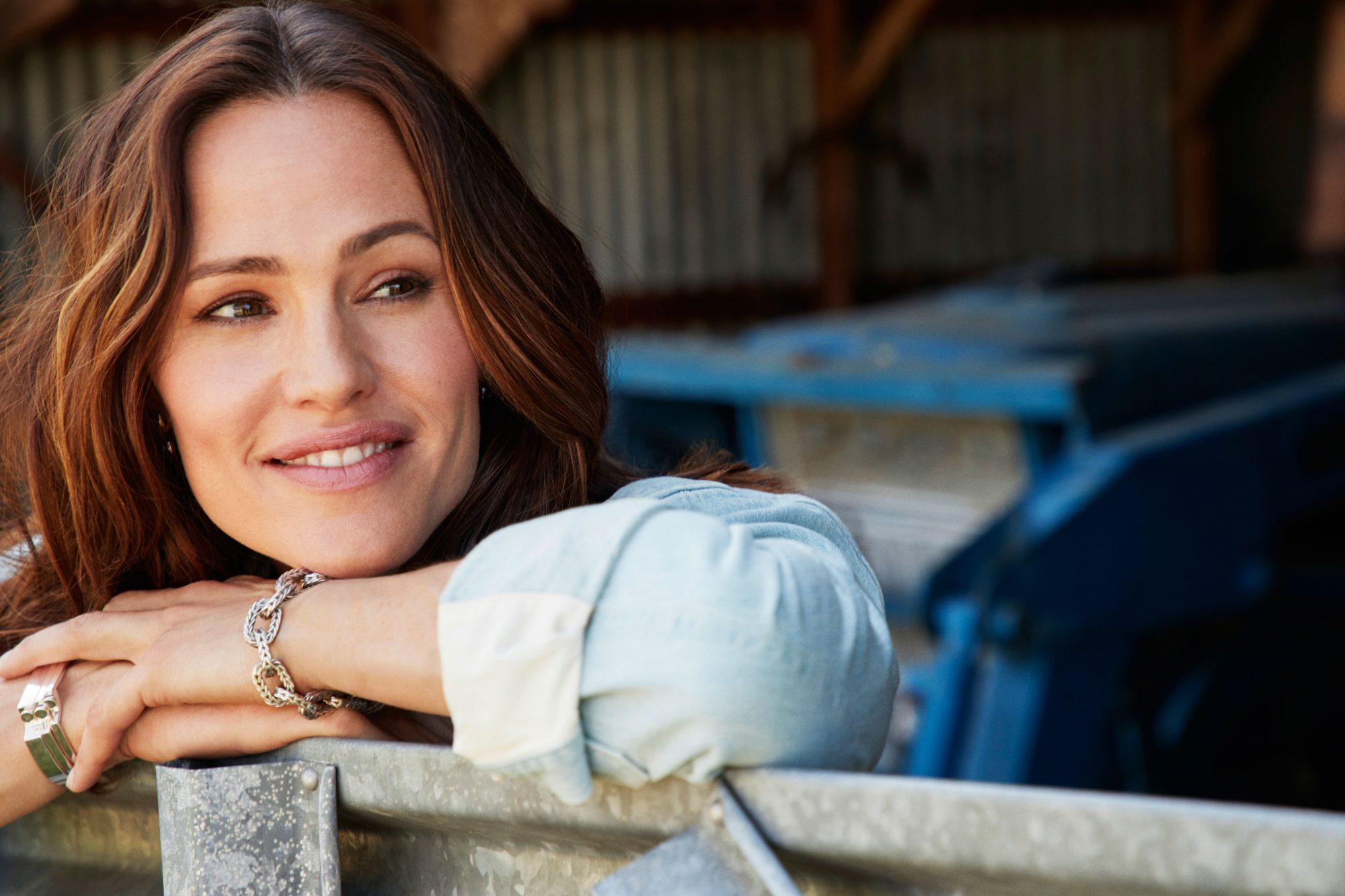 Jennifer Garner on Family Farm