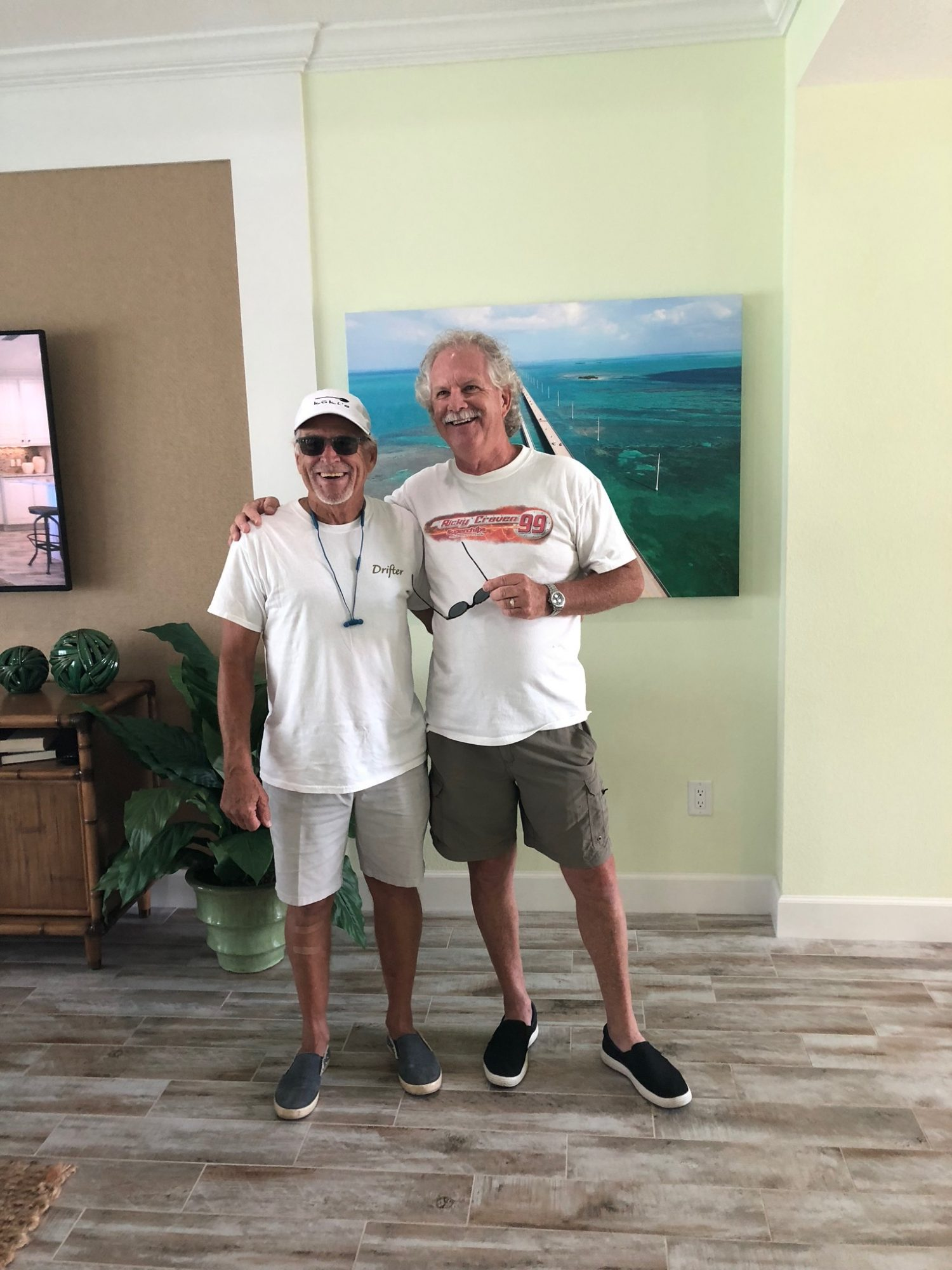 Jimmy Buffett with Latitude Margaritaville Neighbor