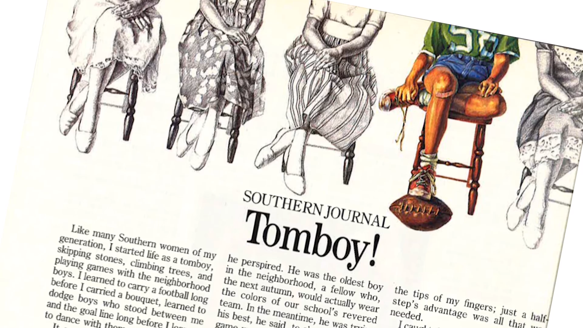 Stories Of The South: Tomboy!