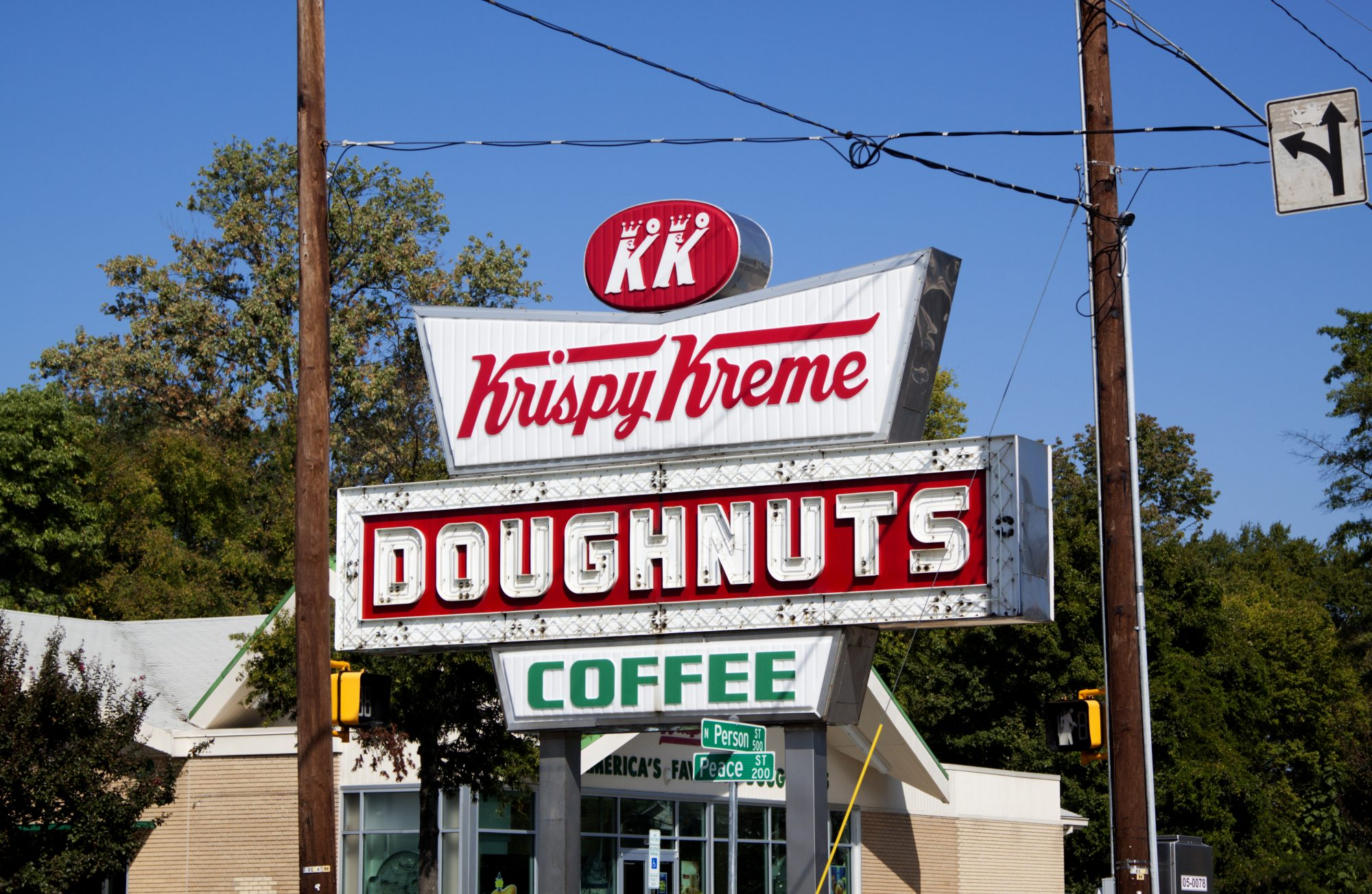 Krispy Kreme Old-Fashioned Sign