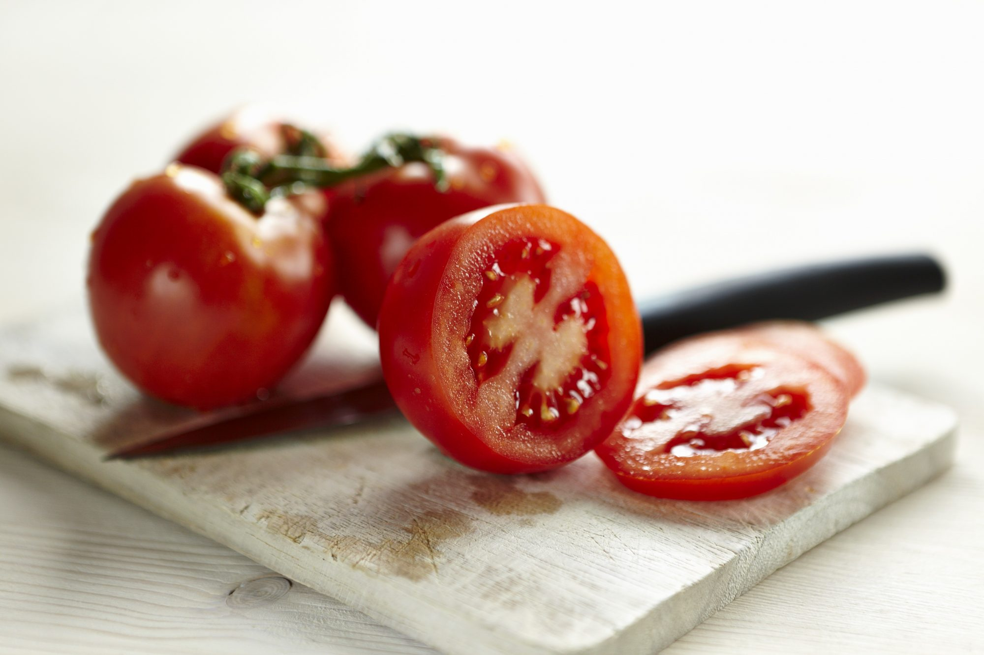 Sliced and Whole Tomatoes