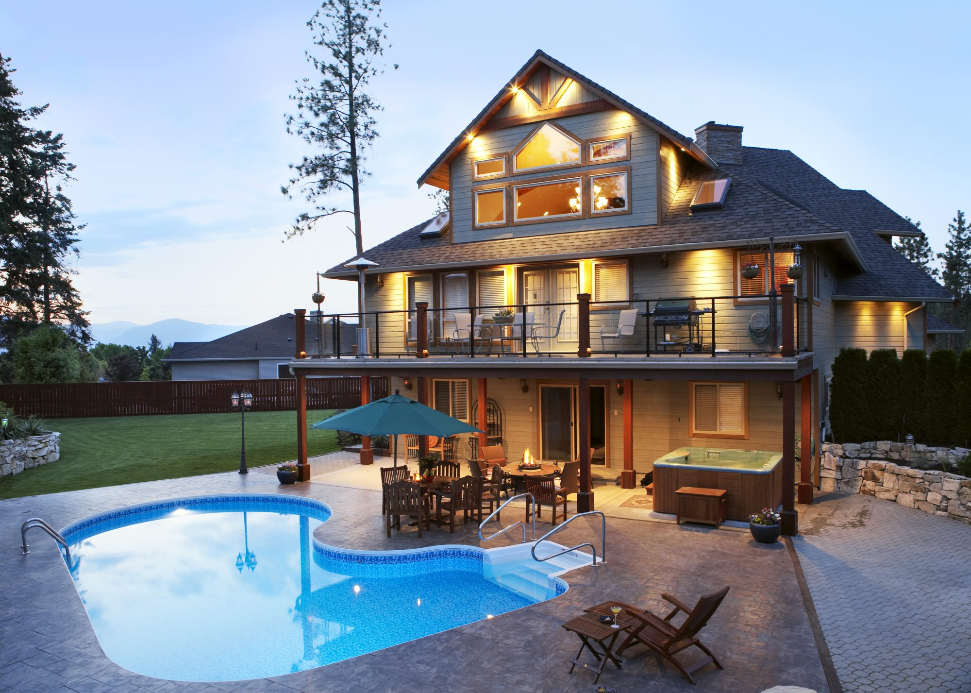 Large House and Pool