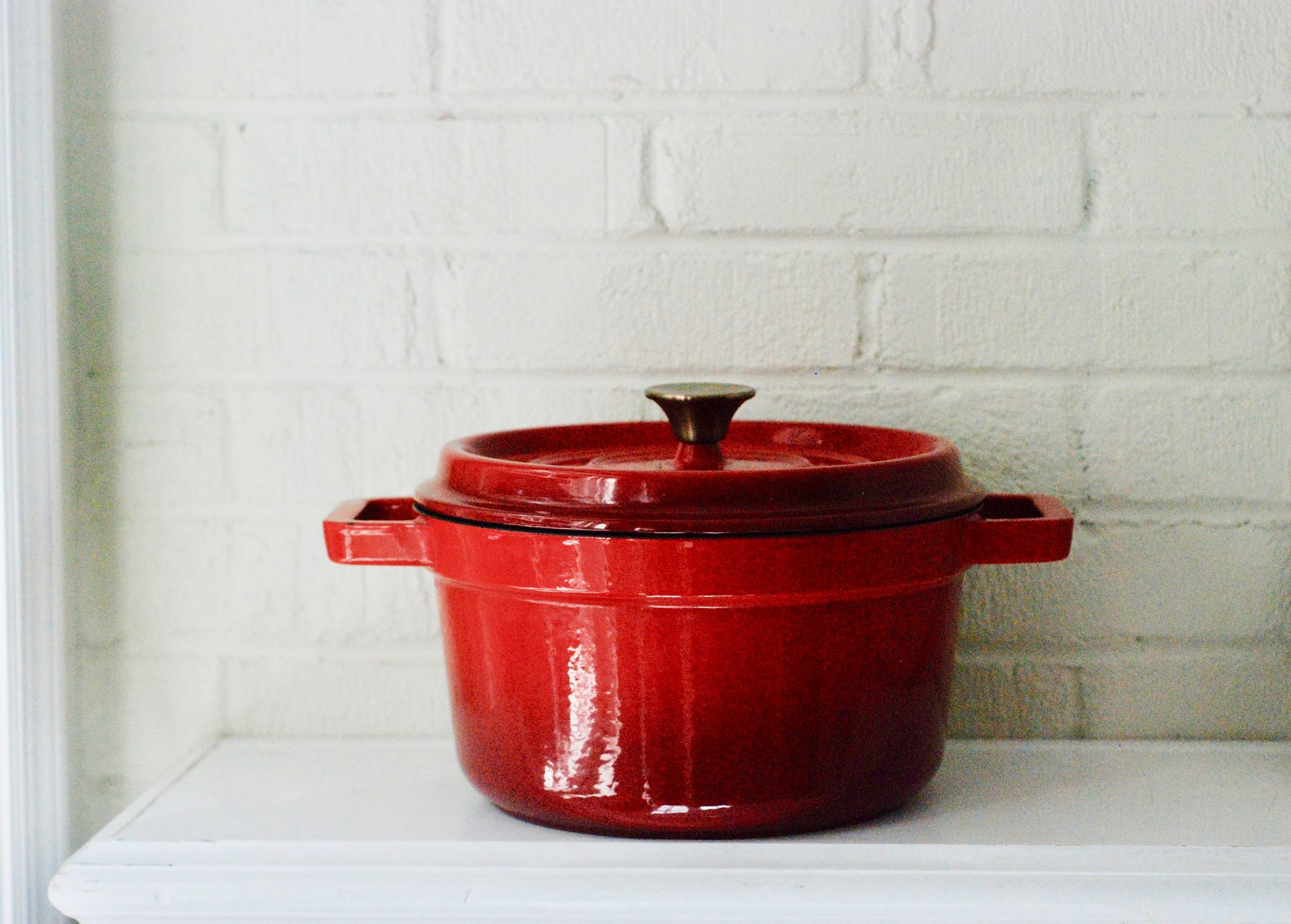Red Dutch Oven Pot
